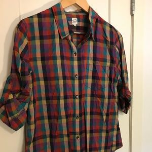 Madewell - Mulit-color button down